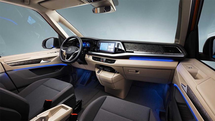 VW Multivan Т7 ориентирован на пассажиров