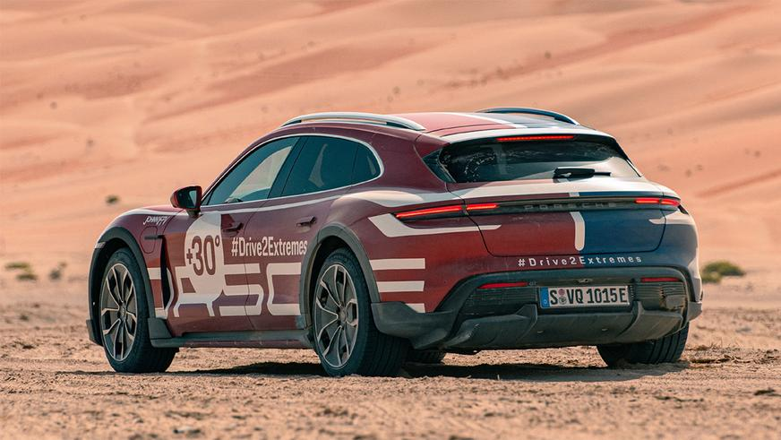 Porsche Taycan Cross Turismo: возможности