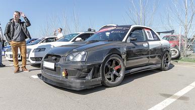 На Kolesa.kz продают карбоновую Subaru Impreza