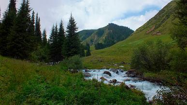 Въезд в Тургеньское и Иссыкское ущелья закроют с 23 июля