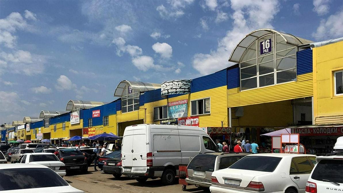 Работу авторынков и крупных автомагазинов ограничат в Алматы с 1 февраля