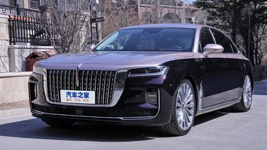 Hongqi H9 оказался на треть доступнее немецких конкурентов