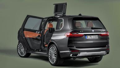 Необычные двери запатентовала BMW