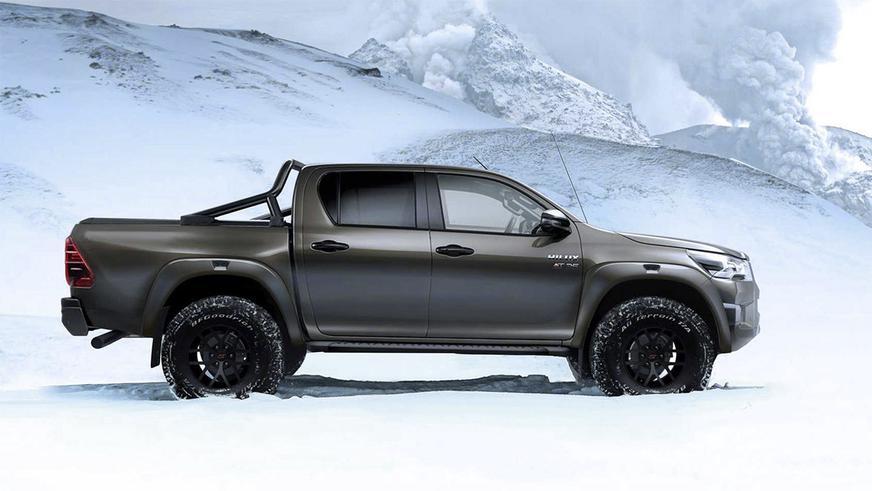 Toyota Hilux от Arctic Trucks: до Raptor осталось совсем чуть-чуть