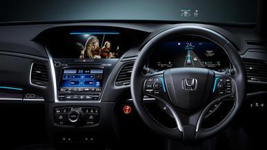 Автопилот Honda позволяет езду без рук