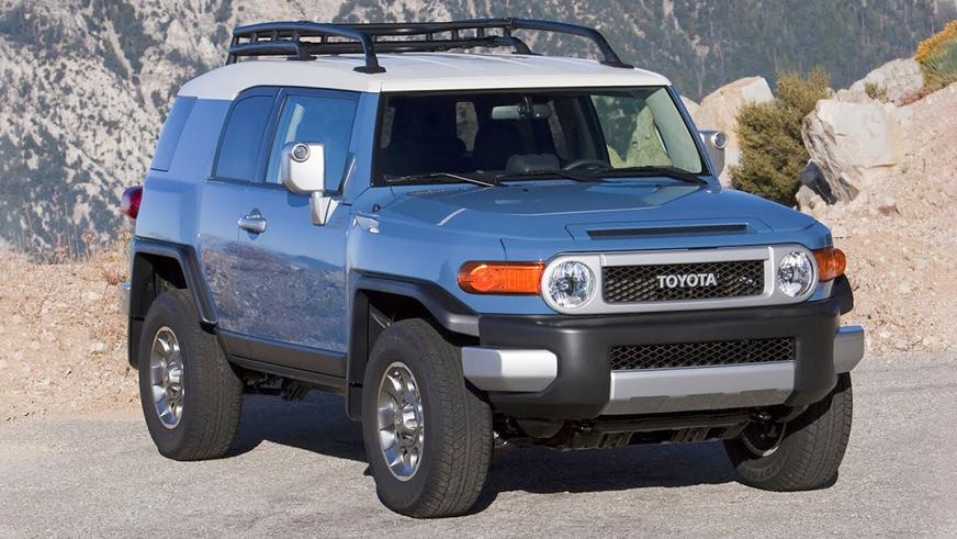 toyota-fj-cruiser-1На подержанные Toyota FJ Cruiser растёт спрос в США