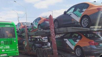 Партию BMW для каршеринга заметили в Алматы