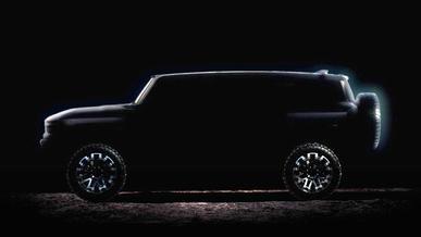 GM показал профиль электрического GMС Hummer