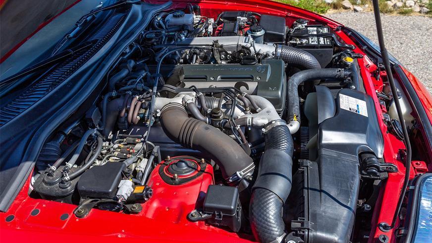 Toyota Supra с мизерным пробегом появилась на торгах