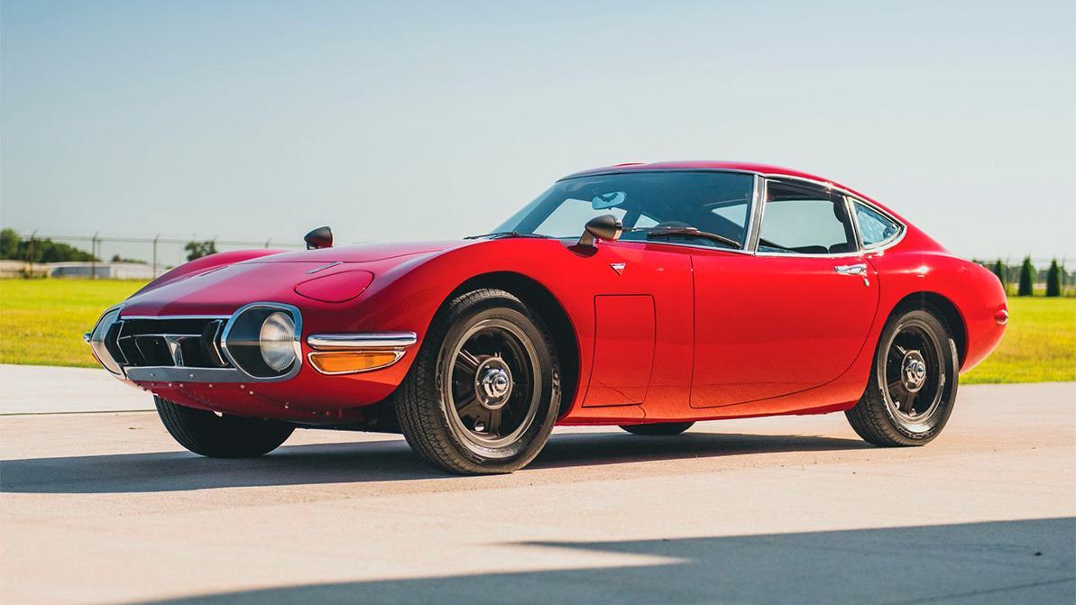 Старую Toyota продали за 912 тысяч долларов