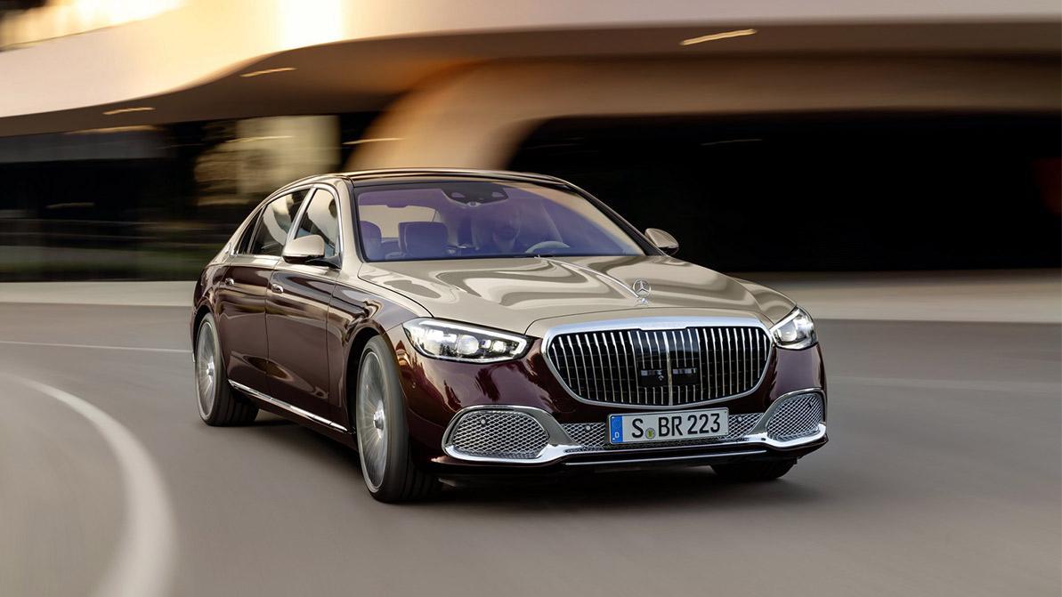 Мир увидел новый Mercedes-Maybach S-класса