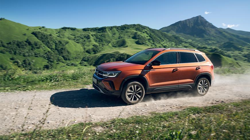 Сколько стоит Volkswagen Taos в Казахстане