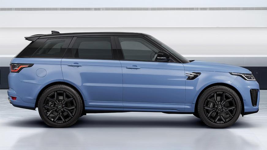 Range Rover Sport SVR Ultimate Edition покрыт «стеклянной» краской