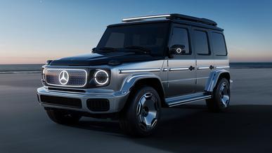 Так выглядит электрический Mercedes-Benz G-Class
