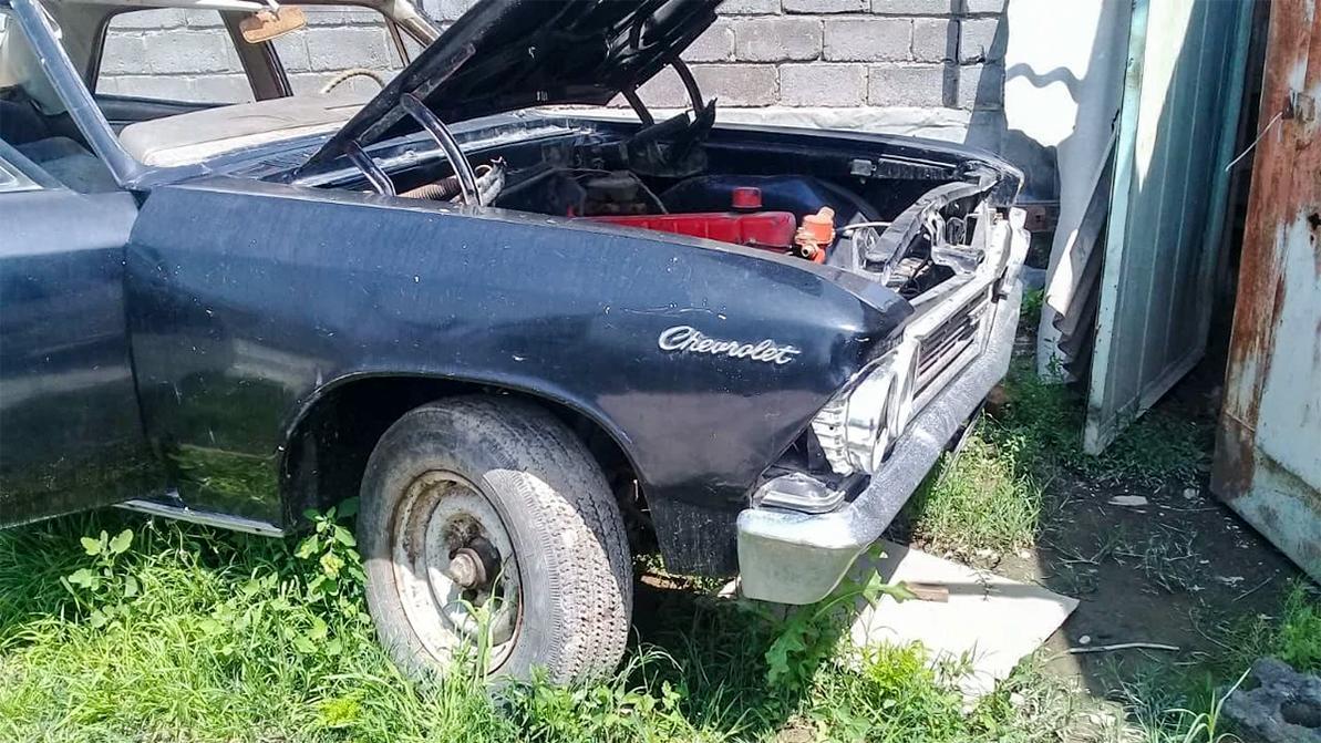 Найдено на Kolesa.kz: классический Chevrolet Chevelle под реставрацию