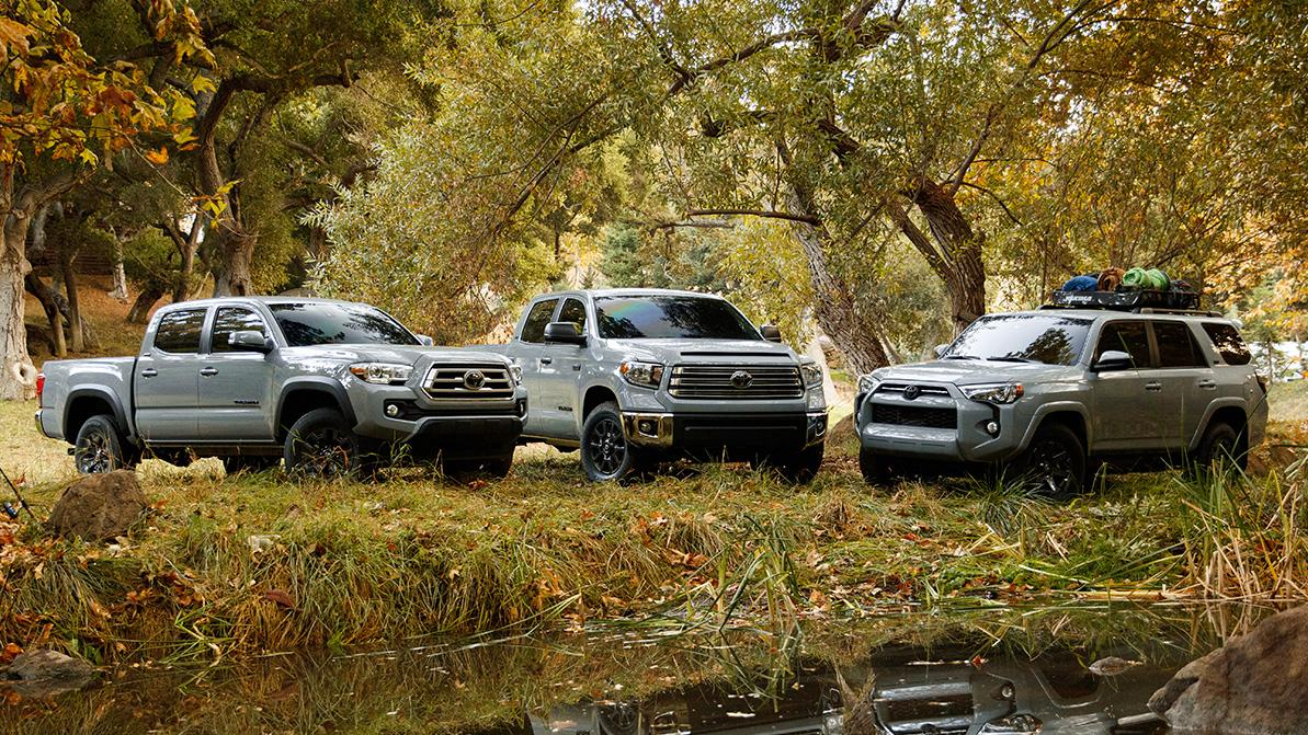Toyota подала заявку на регистрацию названия Trailhunter