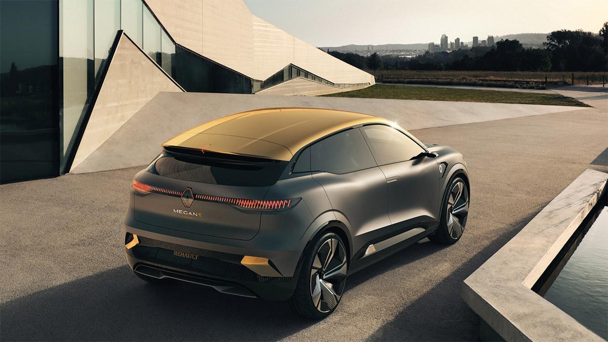 Renault Megane eVision пойдёт в серию с минимальными изменениями