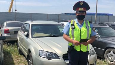 Штрафов на 7 млн тенге нашли у иностранца в Нур-Султане