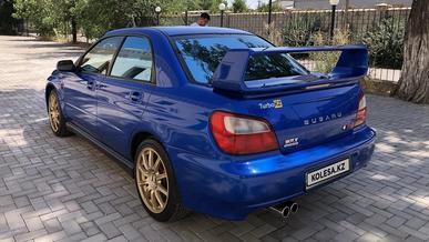 Subaru Impreza WRX STI с мизерным пробегом продают в Шымкенте