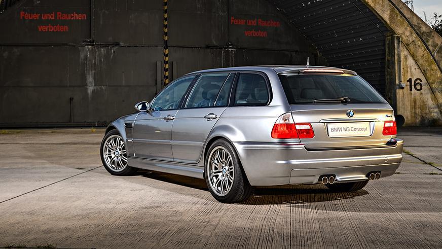 BMW M3 Touring впервые показали на видео