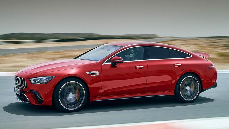 Mercedes AMG-GT 63 S стал мощнее за счёт электромотора на задней оси