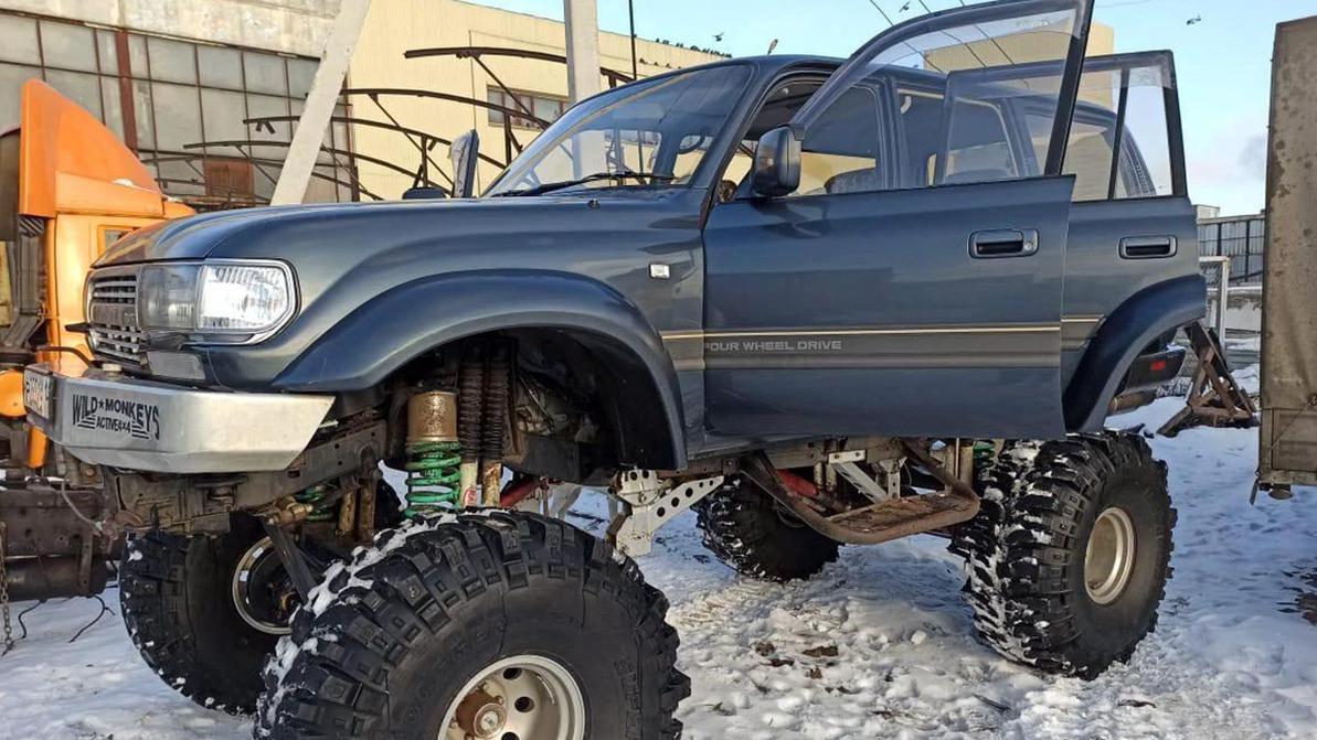 Toyota Land Cruiser из «Одержимых» продаётся в Казахстане