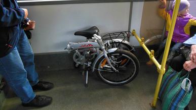 Запрещать перевозить велосипеды и электросамокаты в автобусах не будут