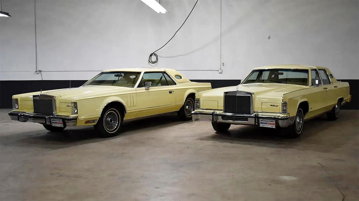 Продаются два «линкольна» 1979 года, на которых никогда и никуда не ездили