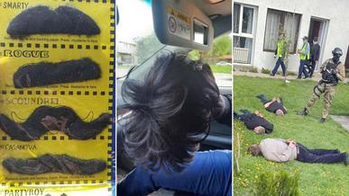 Угонщиков с накладными усами задержали в Алматы