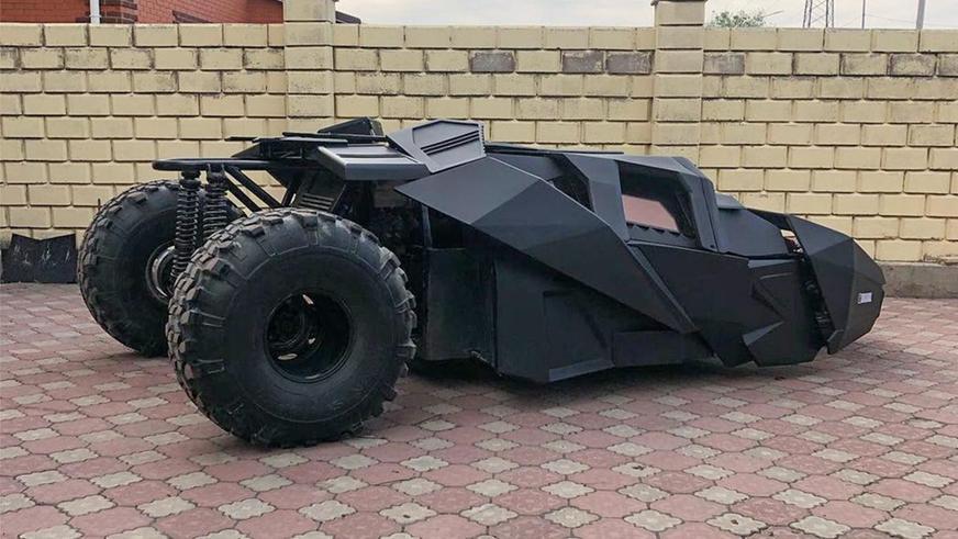 Найдено на Kolesa.kz: бэтмобиль из Темиртау за один миллион долларов