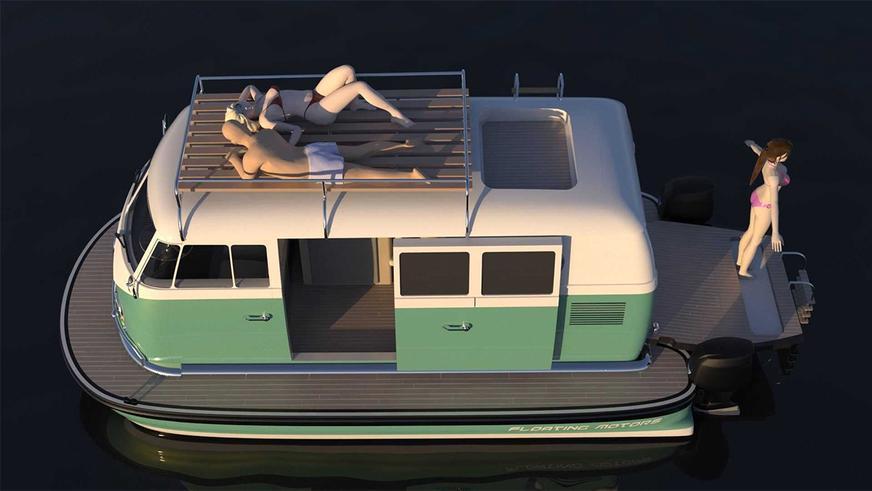 Почему бы не сделать из «запорожца» моторную лодку?