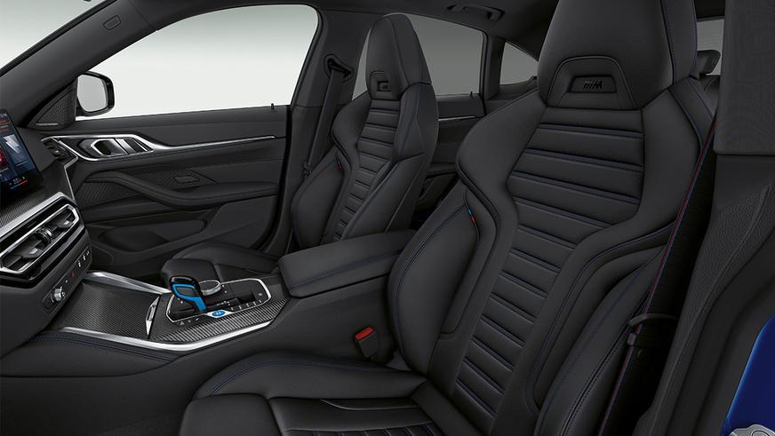BMW i4 M50: первая «электричка» с буквой M