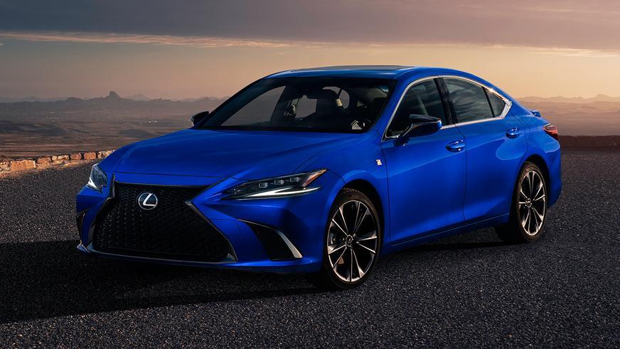 Обновлённый Lexus ES тоже получил вариатор