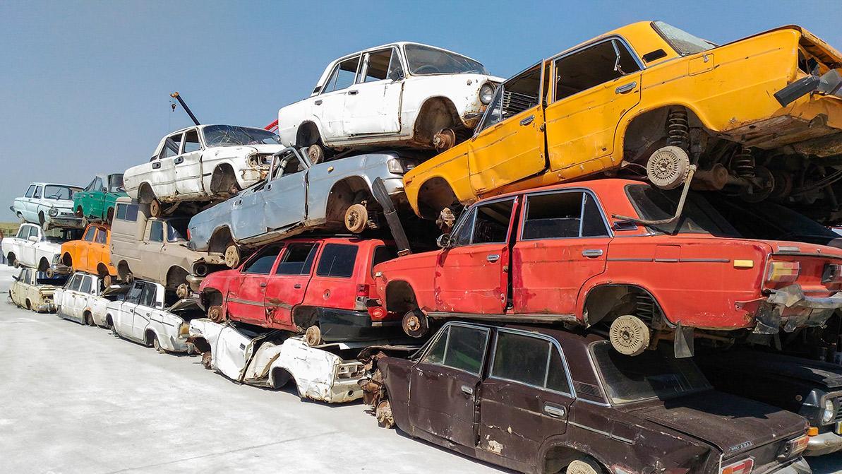 Около 160 тысяч старых машин сдали казахстанцы в утиль за четыре года