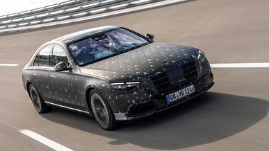 Mercedes-Benz S-Class W223 получит «прыгающую» подвеску, как у GLS