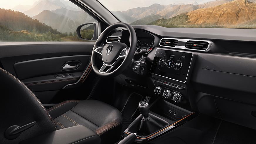 Новый Renault Duster. Интерьер и другие подробности