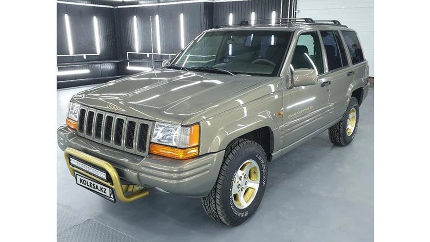 Jeep Grand Cherokee 1996 года выпуска за 6.5 млн тенге