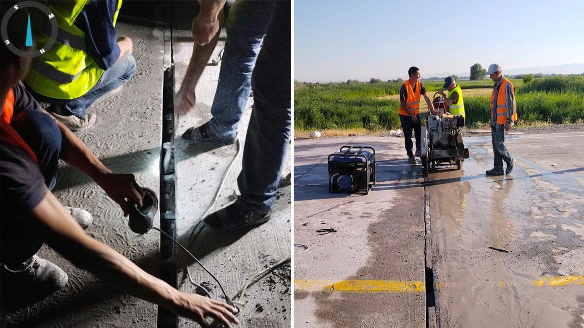 Дорожники начали обследование бетонок во всём Казахстане после ЧП на трассе Алматы – Хоргос