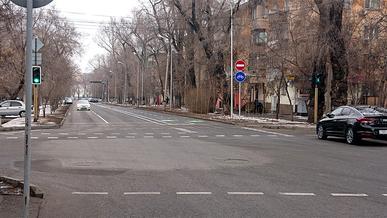 Отрезок улицы Масанчи в Алматы стал односторонним