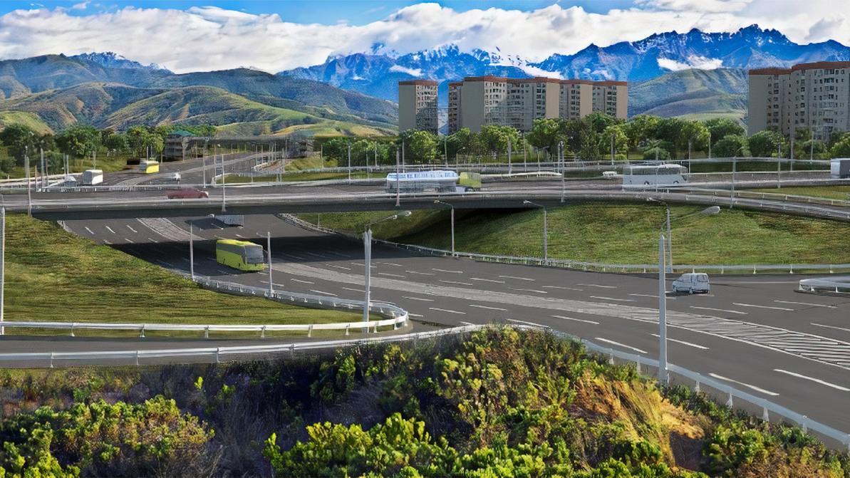 Рыскулова без светофоров: ещё три развязки построят в Алматы