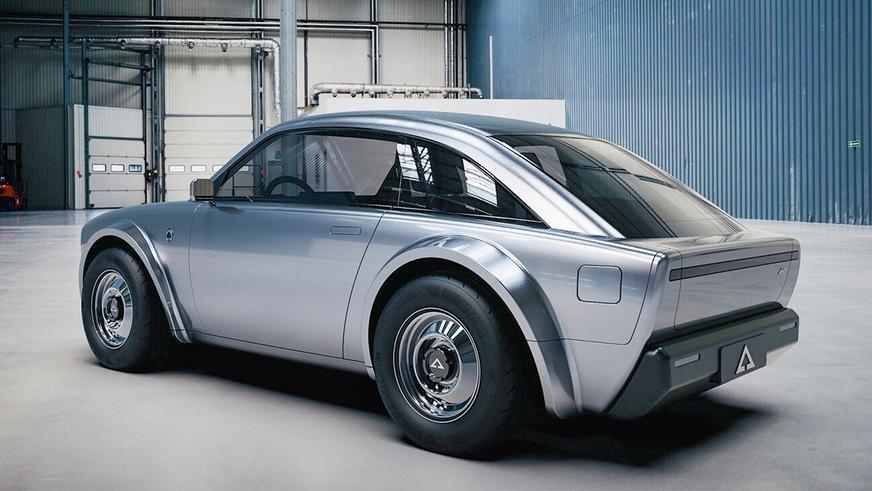 Alpha Ace Coupe EV: милота с батарейкой