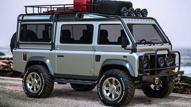 Фургон из Land Rover