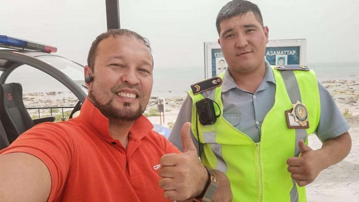 Руслан Жанпеисов больше не «охотник за полицейскими»