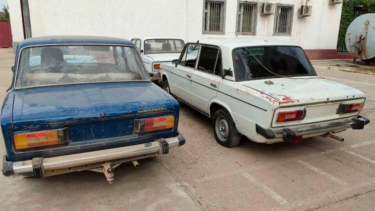 Серийных угонщиков «жигулей» задержали в Туркестанской области