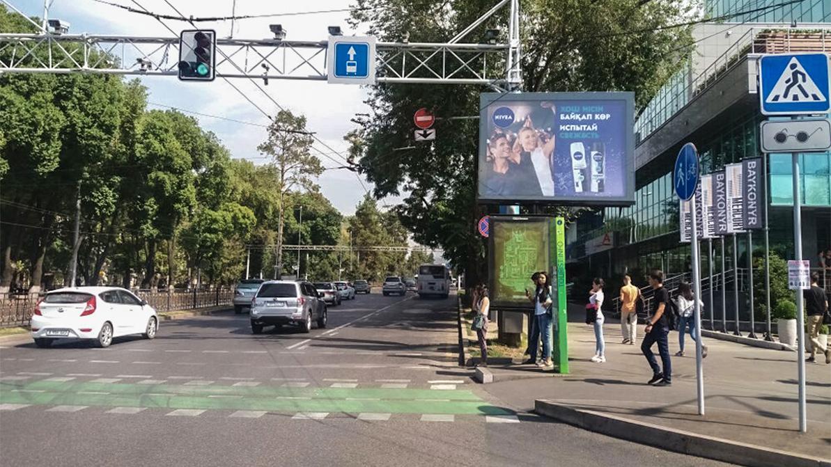 Рекламы на дорогах Алматы может стать меньше