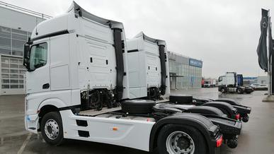 Беспилотные грузовики выпустят на дороги России уже в этом году