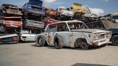 Более 200 тысяч старых машин сдали казахстанцы на утилизацию