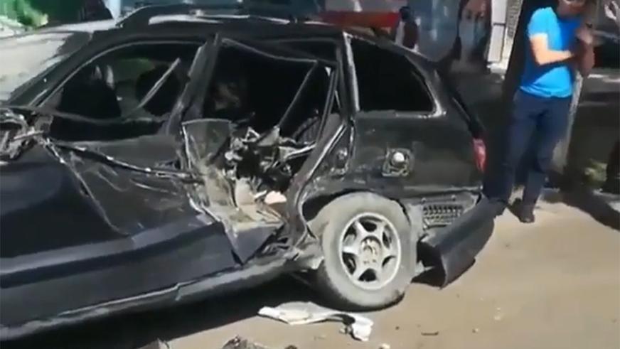 Пять автомобилей столкнулись на Толе би в Алматы