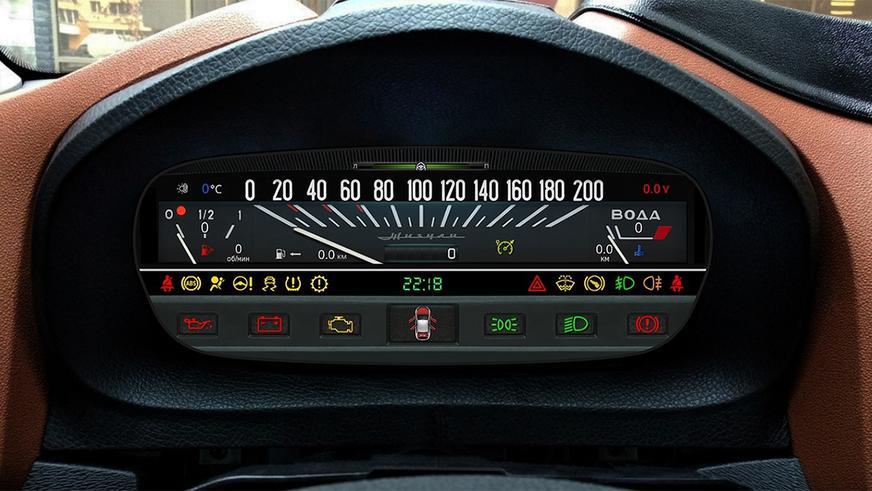 Цифровая приборка для Lada Vesta с классическим дизайном
