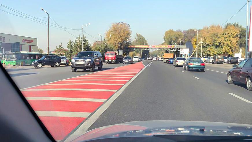 Красные островки безопасности уже в Алматы